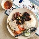 Com Suon Cha (Rice with Pork Chop)