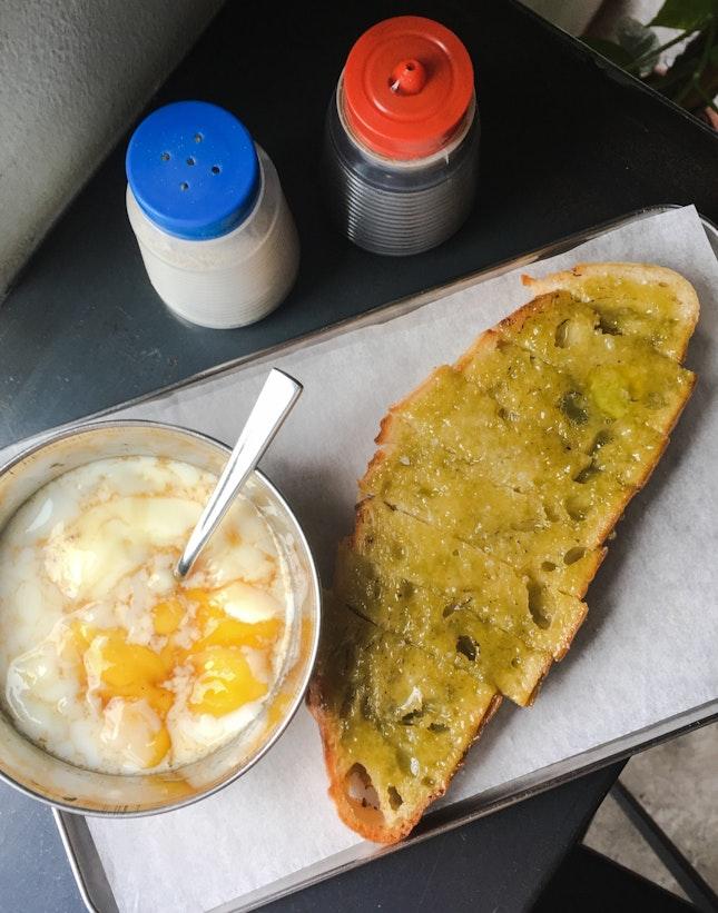 Traditional Homemade Kaya Toast