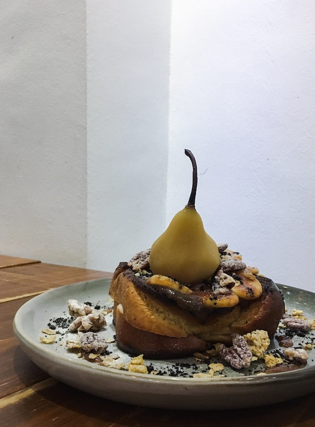Salted Pear French Toast