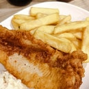 Mr Fish & Chips at Cafe Wok Inn
