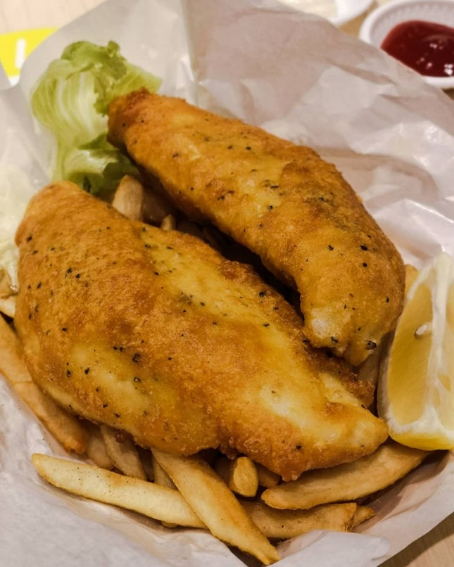 Fish & Chips (White Snapper)