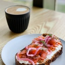 Smoked Salmon & Ricotta Tartine