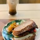 Pulled Beef Rendang Sourdough Sandwich