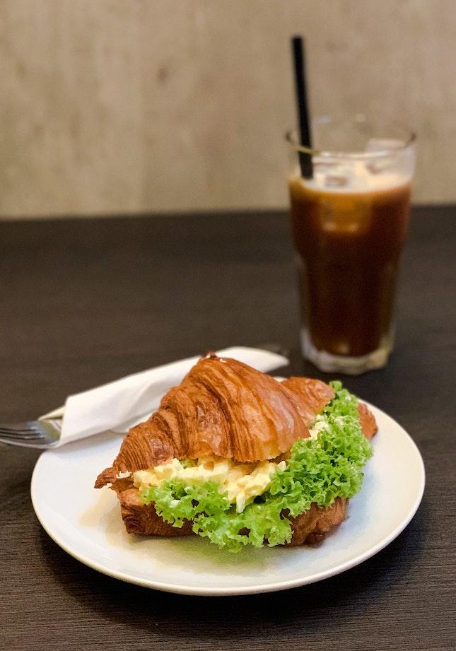 Truffle Egg Mayo Croissant