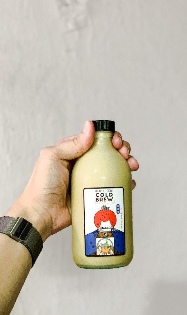 Ice-Cream Milkshake Cold Brew (Hokkaido Milk)