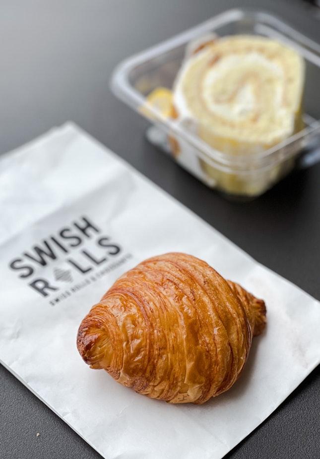 Sea Salt Mini Croissant