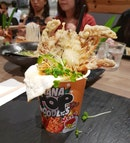 Blackout Noodles Chilli Crab [$18++]