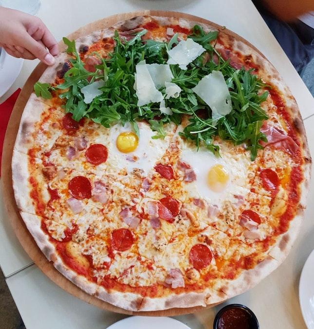 XXL Pizza [$55++]