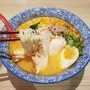 Spicy Miso Tori-katsu Ramen [$12.80++]