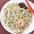 Fried Hokkien Mee 炒福建面 - Best Post-Run Brekkie this morning.
