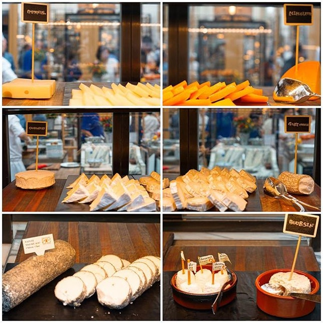 Mini cheese tasting session at Colony..
