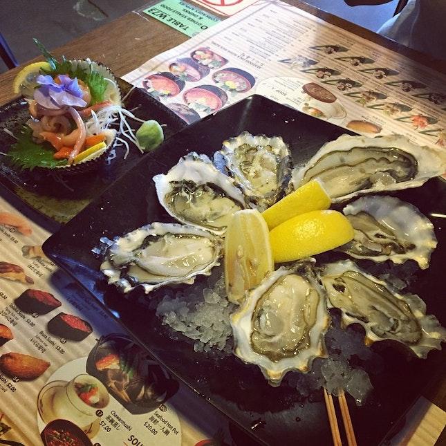 Spot the odd oyster