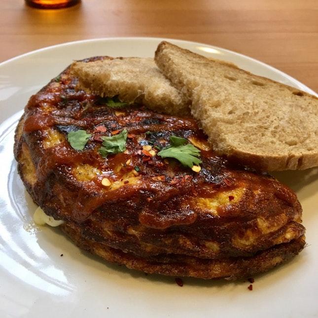 Chilli Crab Omelette ($14 nett)