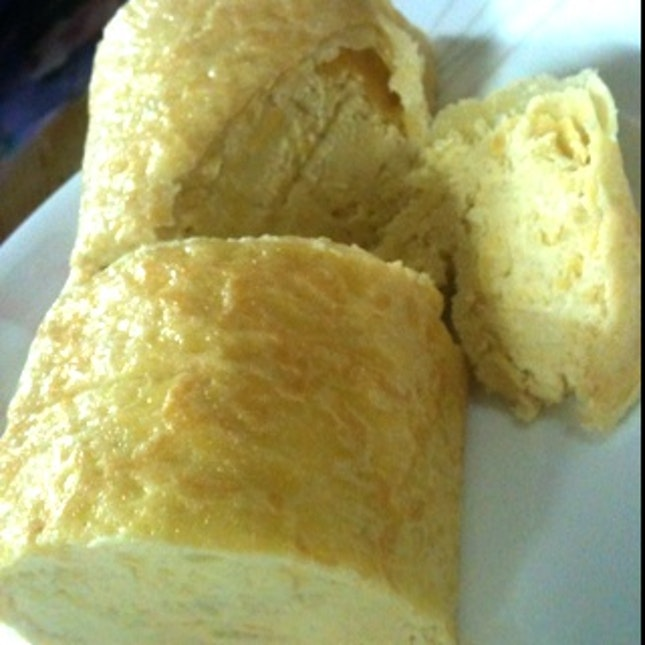 Durian roll from Goodwood Park ...