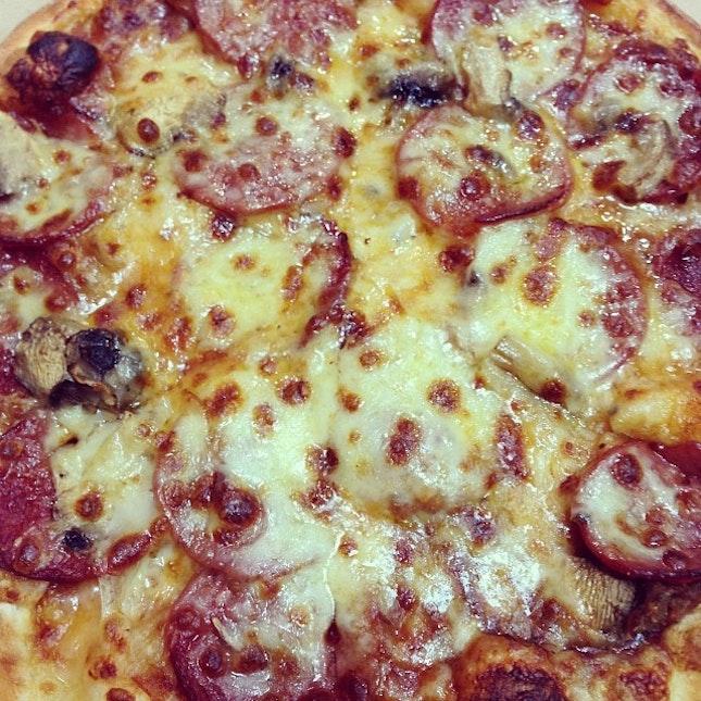 Pizza for dinner...