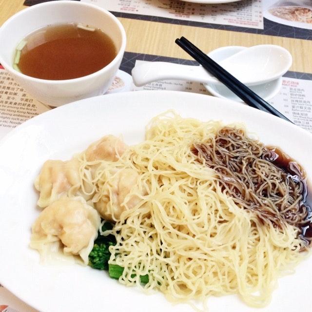 Shrimp Wanton Noodle (Dry)