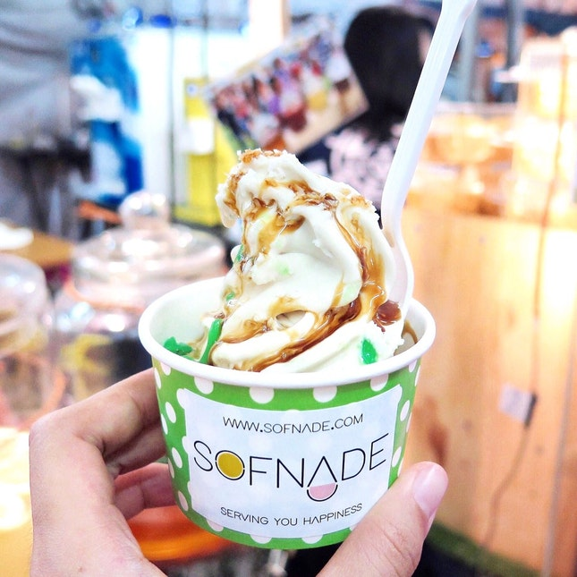 Cendol Soft Serve [$3.50]