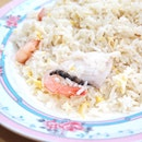 Seafood Fried Rice - Medium [$6]