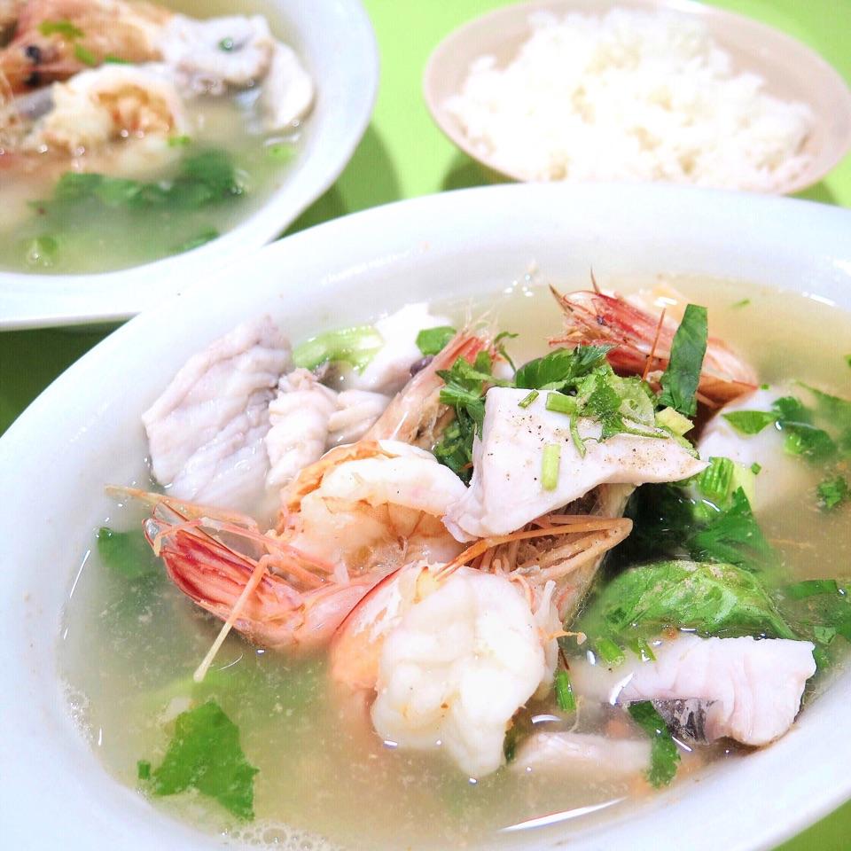Fish & Prawn Soup [$12]