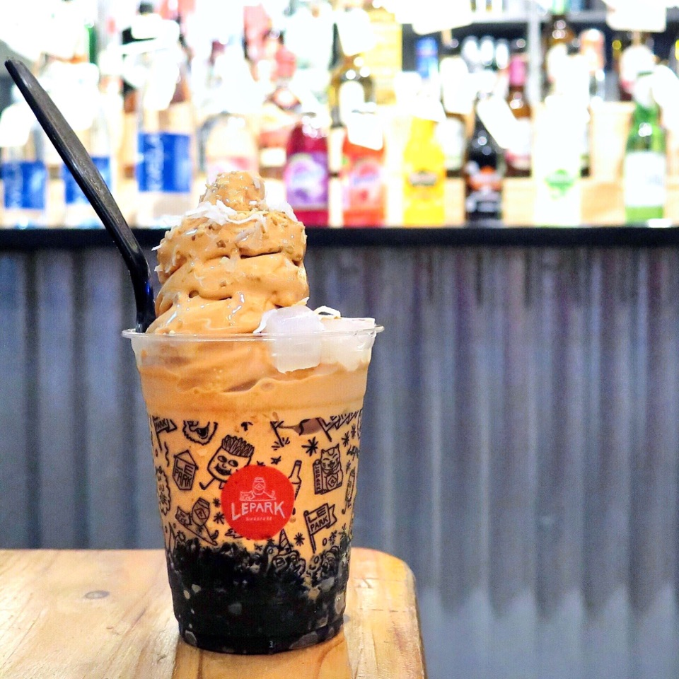 Softserve Thai Teh Peng [$8]