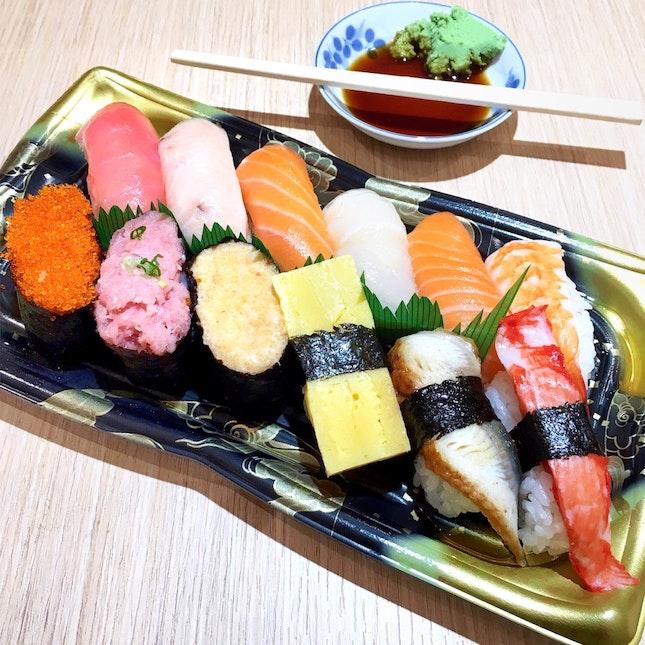 Assorted Sushi [$11.80]