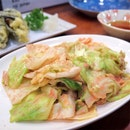 Cabbage with Spicy Fish Roe Saute Fry [$12]