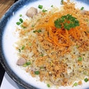 Pork Floss with Fried Egg Fragrant Rice 猪肉松蛋炒饭 [$9.90]