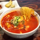 Haemul Jambong / Spicy Seafood Soup with Vegetable [$12.90 for Lunch, $15.90 for Dinner]