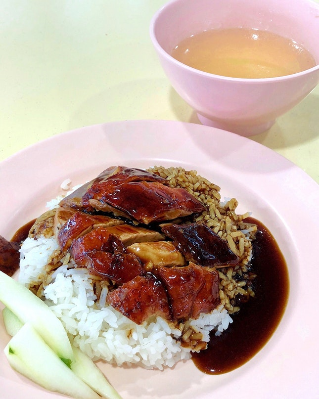 Roast Duck Rice [$3]