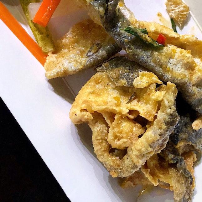 Salted Egg Yolk Fish Skin (Keng Eng Kee)