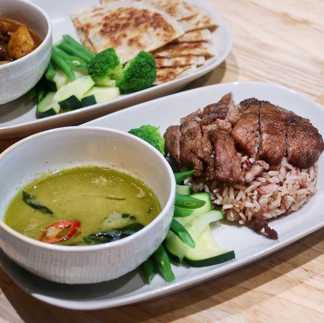 Good 'ol Green Curry [$12]