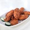 Prawn Paste Fried Chicken Wings 虾酱鸡 [$10]