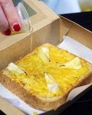 Honey Cheese Toast [$8.90]