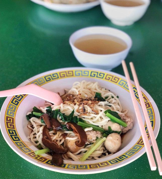 干幼面Dry Handmade Noodles [$4]