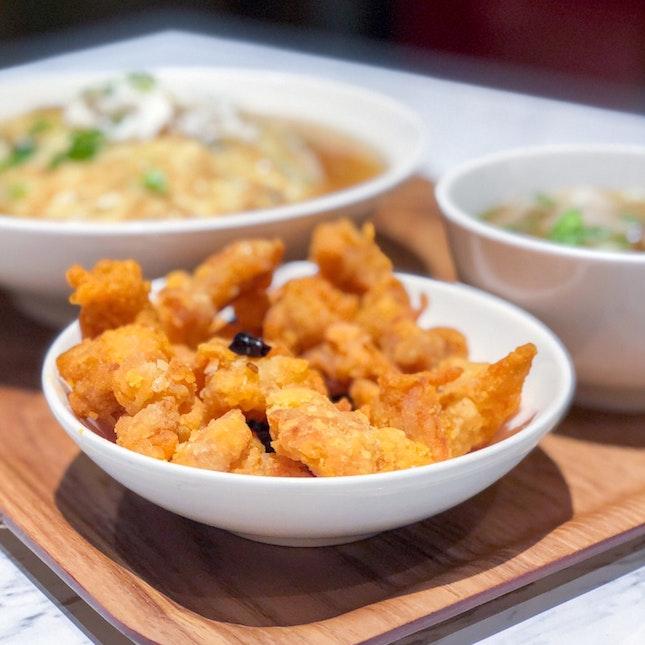 Szechuan Popcorn Chicken [$5]