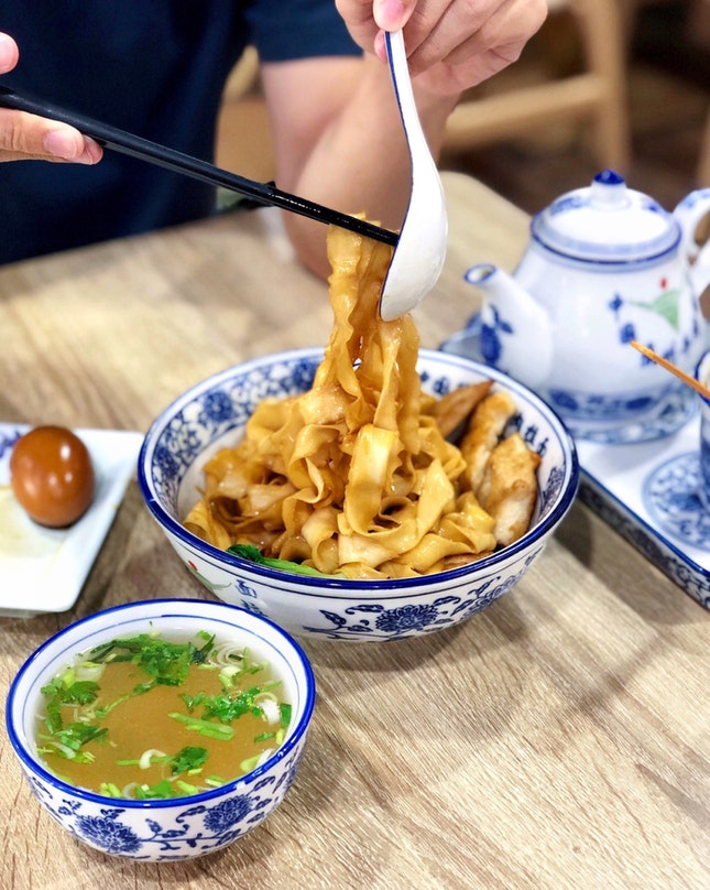 Dry Noodles (Chicken) 干拌面 (鸡肉) [$8.90 for Small]