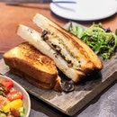 Smoked Mushroom Grilled Cheese [$15]