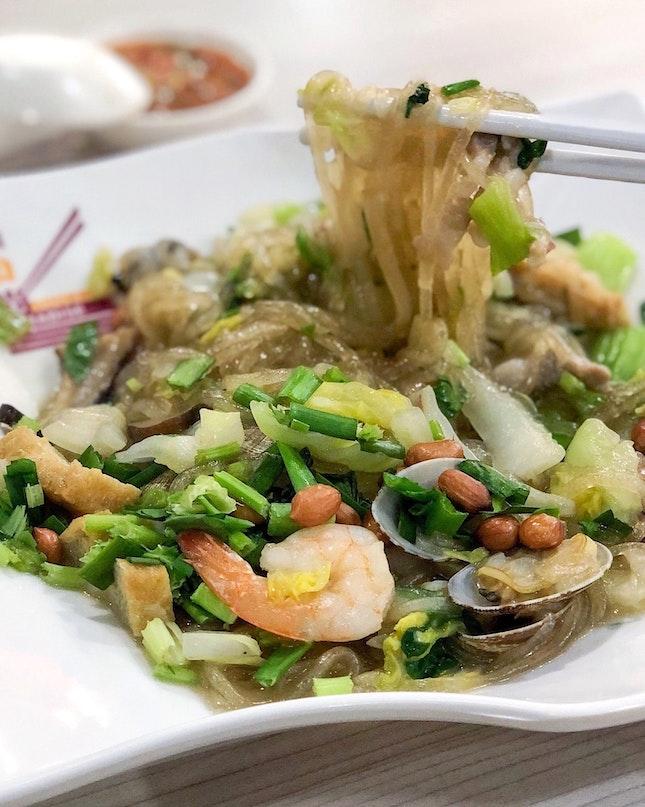 Pu Tian Sweet Potato Vermicelli 莆田炒红薯粉条 [$6]