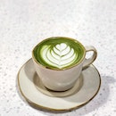 Hot Matcha Latte [$5]