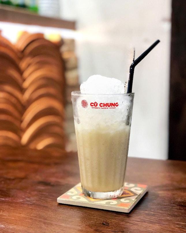 Cô Chung Iced Lime Milk [$5.80]