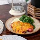 Chicken Parmigiana [$22]