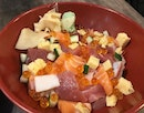 "One of my friends said, ""your instagram is filled with pictures of the Basic Chirashi Don from @thesushibar_sg !"""