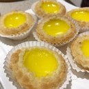 Flaky, warm and sweet egg tarts from Canton Paradise .