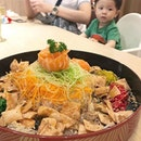 My first Yu Sheng picture this year to show you how delayed my instagram pictures are.