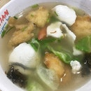 The 双鱼汤 Fried and Sliced Fish Soup was so fresh and delicious that Thursday 😁👍🏻 Made my tummy so happy.