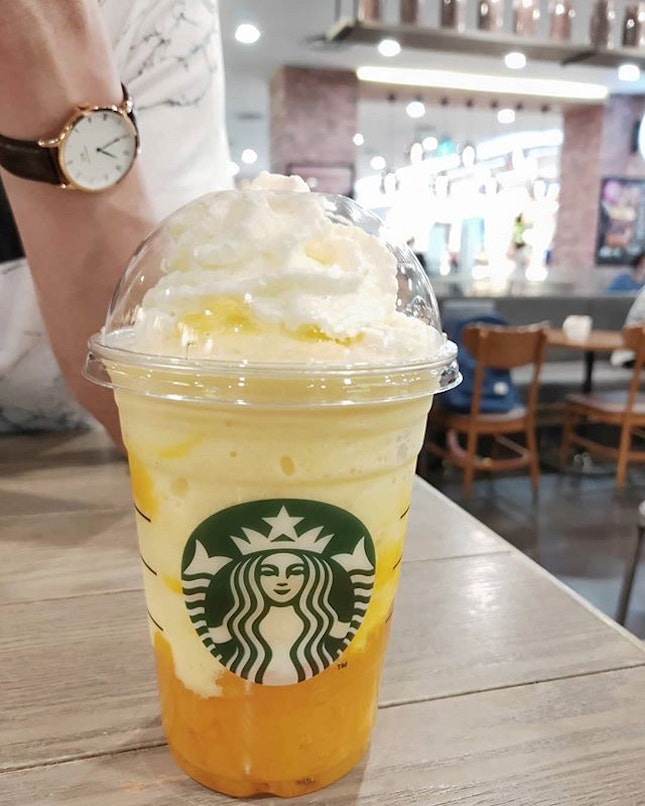 Mango Mango drink is so amazing - if only it can be a permanent menu item.