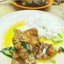 Salted Egg Pork Rib Rice: feels like the standard has fallen though.