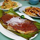 BBQ Sambal Stingray $22 (small)- Portion a lil small for the price paid...
