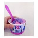 cotton candy ice cream.