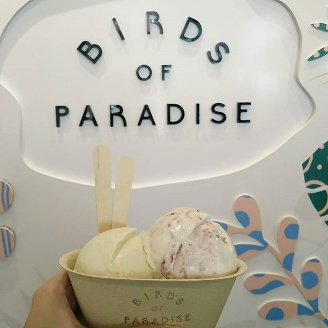 Finally got the chance to drop by #birdsofparadisesg to try the ice cream!